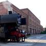 52 8095 macht am 14.06.2005 mit dem Interieur-Express Station im ehemaligen Aw Braunschweig - Foto: Marc Lewandowski VIII