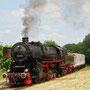 Zwischenhalt des ersten Zuges nach Gerolstein in Dockweiler