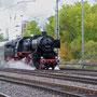 Am späten Nachmittag verlässt der Sonderzug Trier wieder in Richtung Euskirchen - Foto: Achim Müller II