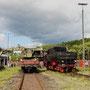 Zurück in Gerolstein wird im Bw der Kohlevorrat ergänzt