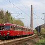 AKE-Sonderzug auf der Rückfahrt nach Gerolstein - Foto: Christian Grawe