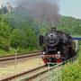 Durchfahrt Pelm mit der Kasselburg im Hintergrund