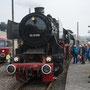 """52 6106 mit Pendelzug aus Essen Hbf anlässlich der Museumstage """"Frischer Dampf im Eisenbahnmuseum"""" - Foto: Henning Pietsch"""