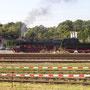 Anlässlich einer Veranstaltung der DB Gleisbau war die Lok im September 2003 in Duisburg zu Gast - Foto: Bernd Bastisch III