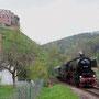 Frankenstein (Pfalz) mit Burgruine - Foto: Georg Lochner