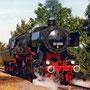 """Kurz nach der Aufarbeitung war 52 8095 im September 1997 zum """"Tag des Lokführers"""" in Aachen zu Gast - Foto: Heinz Hülsmann II"""