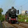 Der Zug bei einer weiteren Pendelfahrt in Essen-Horst - Foto: Ulrich Berensmeier