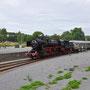 Nach 36 Kilometern hat 52 6106 ihr Fahrtziel Ulmen erreicht - Foto: Robert Hildebrand