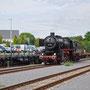 Umsetzten der Lok nach der Ankunft in Ulmen - Foto: Robert Hildebrand II