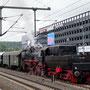Der Sonderzug hat Bielefeld Hbf erreicht - Foto: Robert Krätschmar