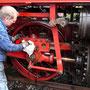 Auch optisch wird die Lok wieder auf Vordermann gebracht - Foto: Heiner Neumann