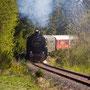 Blick auf die nachschiebende 52 bei Laubach-Müllenbach - Foto: Joachim Francini