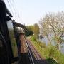 Zwischen Trier und Karthaus geht es an der Mosel entlang - Foto: Julian Adams