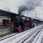 Abfahrbereit steht die Lok zur Drehfahrt nach Karthaus - Foto: Achim Müller I
