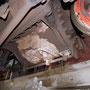 Deutliche Betriebsspuren an den beiden Dampfzylindern - Foto: Norbert Rademacher I