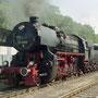 52 8095 hat mit einem Charterzug Gerolstein erreicht - Foto: André-Mathieu Fransolet II