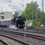 Am späten Nachmittag verlässt der Sonderzug Trier wieder in Richtung Euskirchen - Foto: Achim Müller I