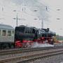 Am späten Nachmittag verlässt der Sonderzug Trier wieder in Richtung Euskirchen - Foto: Achim Müller III