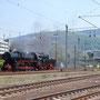 Ausfahrt Heidelberg zur Drehfahrt über das Gleisdreieck Mannheim-Friedrichsfeld - Foto: Georg Lochner