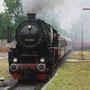 Einfahrt des Zuges in den Bahnhof Daun - Foto: Tobias Hartmann