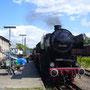 """52 6106 am Bahnsteig von """"Laupheim"""" - Foto: Frederic Siemann"""