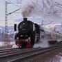 Der Sonderzug auf seinem Weg nach Koblenz, aufgenommen bei Andernach - Foto: Rüdiger Balhar