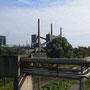 Motive für die das Ruhrgebiet bekannt ist, während der Fahrt nach Bottrop