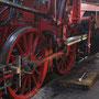 Vorrichtung zum Ausrichten der Gleitbahn auf der Lokführerseite I