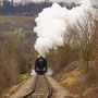 Rampenfahrt zwischen Linsenhofen und Neuffen - Foto: Wolfgang Schmidt