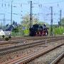 52 6106 erreicht den Trierer Hauptbahnhof - Foto: Achim Müller I