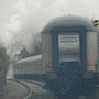 Dichter Nebel am Scheitelpunkt der Strecke in Schmidtheim II