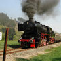 Der nächste Zug kurz vor dem Endpunkt Hellenthal