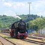 Die Führerstandsmitfahrten endeten jeweils im Güterbahnhof - Foto: Georg Lochner