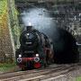 Ausfahrt Schloßbergtunnel und Einfahrt Bahnhof Heidelberg-Altstadt - Foto: Ingo Drews