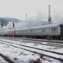 Mit der zweiten Leistung des Tages durcheilt 52 6106 Trier-West in Richtung Ehrang  - Foto: Achim Müller II