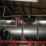 Der gleiche Bereich nach Montage der Dampfpfeife