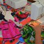 Rebecca makes a new Nala dress, Masvingo, Zimbabwe