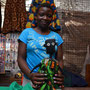NALA is getting her new Dress in the Citymarket in Lusaka, Zambia