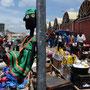NALA at the crowdy City Market in Lusaka, Zambia