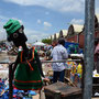 NALA at the crowdy City Market in Lusaka, Zambia