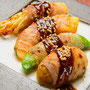 焼き野菜のオイル肉巻き・EM'S GRiLLER