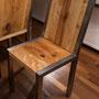 Blick auf den Stuhl