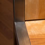 Sauber verschweißte Edelstahl-Streben