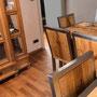 Sitzecke, Schrank und boden