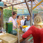 Klima Gourmet Woche 2018, Heide Benjes, unsere ajurvedische Köchin bringt die richtige Würzung ins wilde Kraut