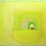 「in warm.」 27.4×22cm 油彩 2011年 個人蔵
