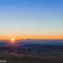 Sonnenuntergang - fotografiert vom Bilstein aus - Blick Richtung Frankfurt