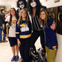 KISS Army members Mark (as Paul) and Marty (as Gene) were instrumental  in creating a buzz with the students.