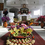 Blick zum Altar in Dobitschen