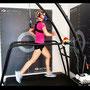 """Sportmodel und Bloggerin """"theatritralisch"""" zur Leistungsdiagnostik bei iQ athletik"""